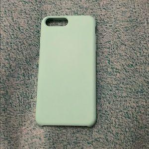 Accessories - mint green phone case